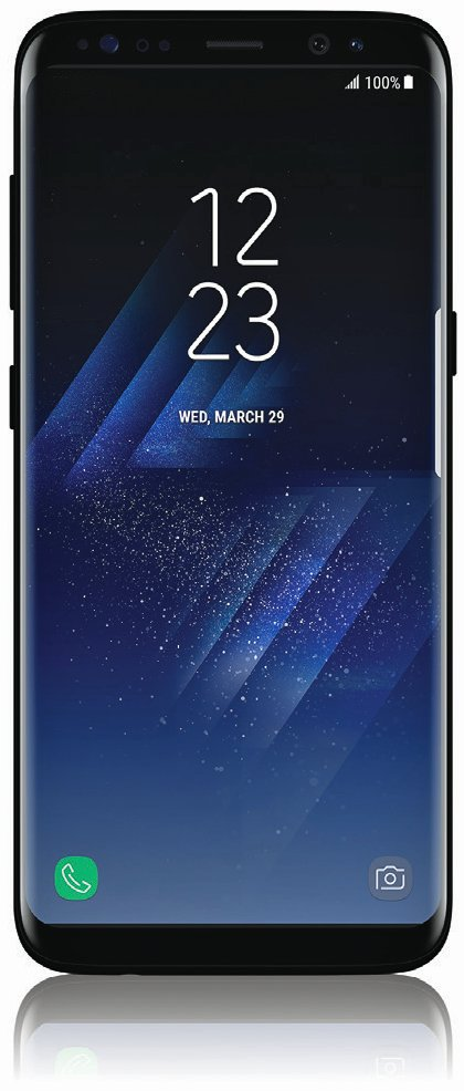 Samsung Galaxy S8 press render