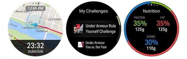 UnderArmor per Gear S3