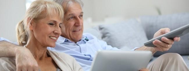 Anziani e TV