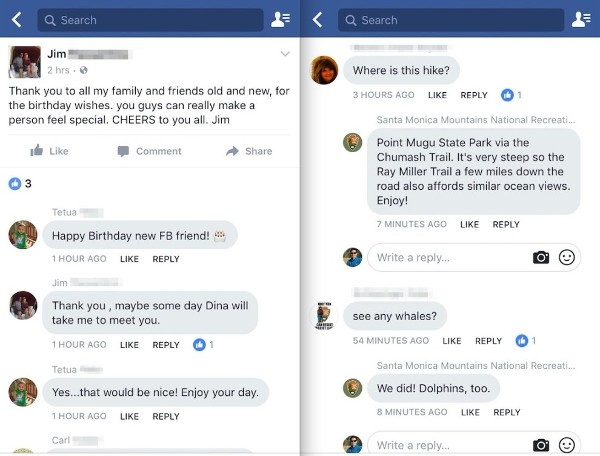 Facebook, commenti in stile Messenger