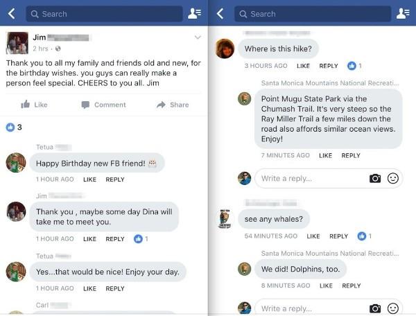 Facebook, commenti in stile Messenger