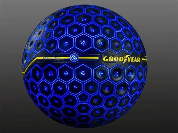 Lo pneumatico sferico Goodyear Eagle 360 Urban presentato al Salone dell'Auto 2017 di Ginevra