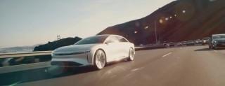 Lucid Air: debutto in strada per l'auto elettrica