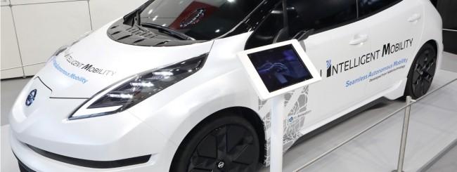 CeBIT, Nissan porta la guida autonoma