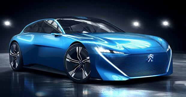 Il concept Peugeot Instinct mostrato al Salone dell'Auto 2017 di Ginevra: guida autonoma e intelligenza artificiale