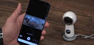 Samsung Gear 360 (2017): streaming live e 4K