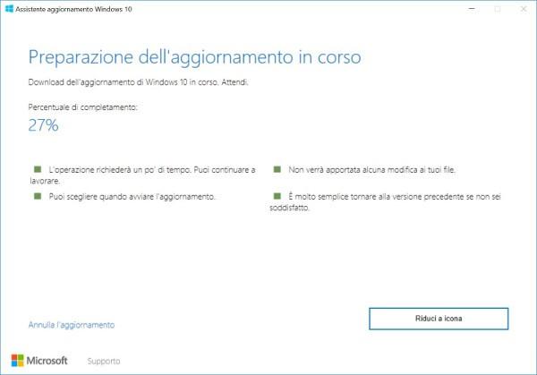 Windows 10 Creators Update disponibile al download