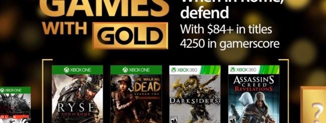 Microsoft svela gli Xbox Games with Gold di aprile