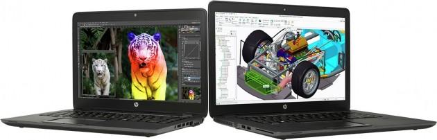 HP ZBook 14u e ZBook 15u