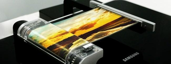 Samsung Galaxy X display