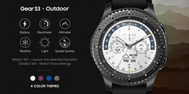 Eccezionale Samsung Gear S3, nuovi quadranti di primavera   Webnews SE68
