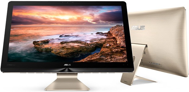 Il computer all-in-one ASUS Zen AiO Pro, con monitor da 23,8 pollici e sistema operativo Windows 10