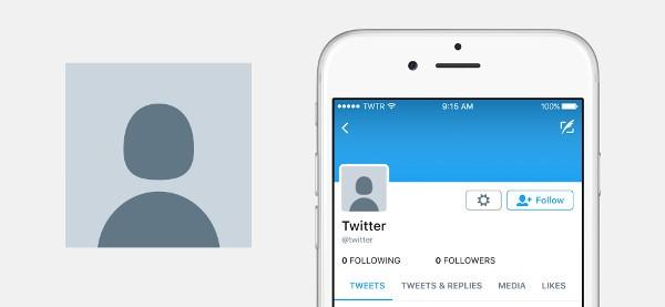 Twitter perde l'uovo nei profili