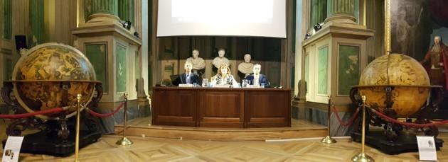 Sala dei Mappamondi, Accademia delle Scienze di Torino