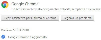 Il browser Chrome è stato aggiornato da Google alla versione 58 su computer Windows, macOS e Linux