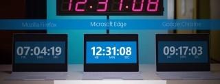Microsoft Edge batte Chrome e Firefox nei consumi