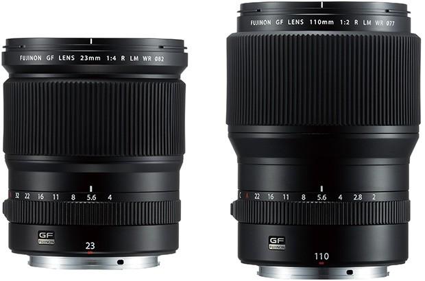Nuove ottiche per il medio formato GFX di Fujifilm: gli obiettivi FUJINON GF23mmF4 R LM WR e FUJINON GF110mmF2 R LM WR