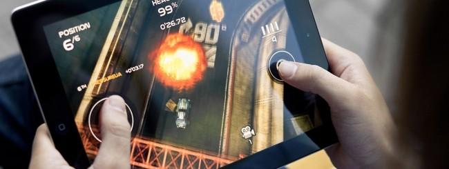 iPad e videogioco