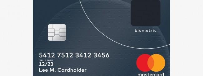 MasterCard, si pagherà con un dito