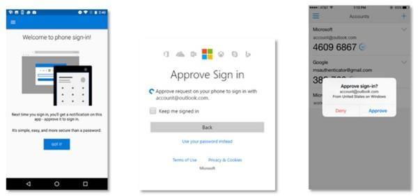 Microsoft rimpiazza la password con lo smartphone