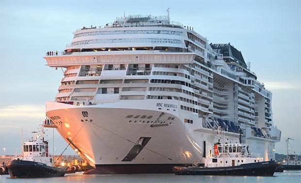 Meraviglia, la nuova nave da crociera della flotta MSC
