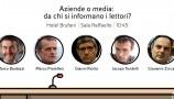 Panel Eni al Festival del Giornalismo di Perugia
