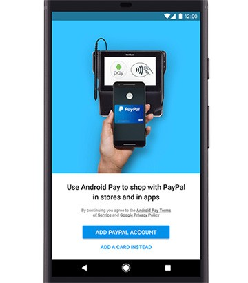Google sta per introdurre il supporto agli account PayPal per i pagamenti con la tecnologia di Android Pay
