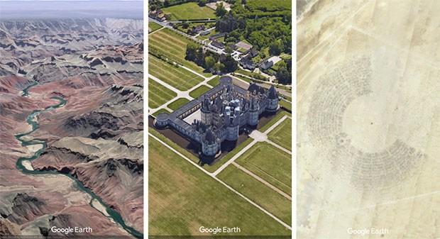 La nuova versione di Google Earth permette di inviare cartoline dai luoghi di tutto il mondo