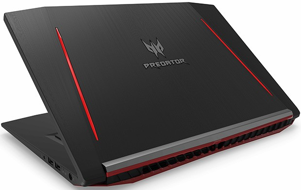 Il design del notebook Acer Predator Helios 300 esprime tutta la sua potenza e le performance aggressive, adatte al gaming spinto