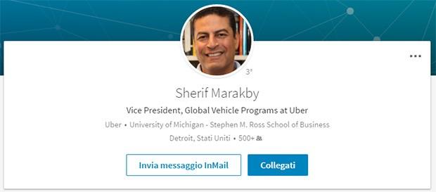 Il profilo professionale di Sherif Marakby