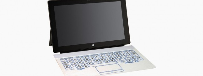 Microsoft, una Surface Cover con display e-paper