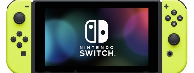 Nintendo Switch Neon Yellow