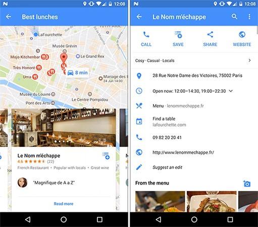 L'applicazione Android di TheFork è una delle prime a offrire il pieno supporto alla tecnologia Instant Apps