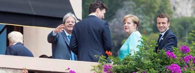 Taormina, 27/05/2017 - I Leader del Summit G7