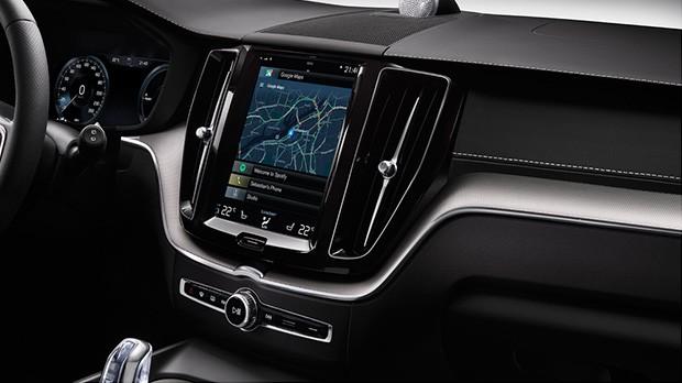 Il concept di Volvo XC60 equipaggiato con una piattaforma di infotainment basata sul sistema operativo Android