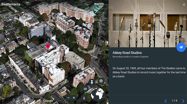 Gli studi Abbey Road di Londra