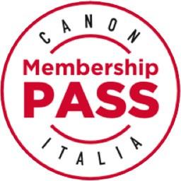 Il bollino del programma Canon PASS Italia