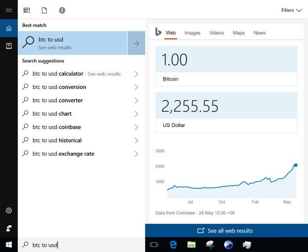 Cortana, Microsoft migliora l'integrazione di Bing