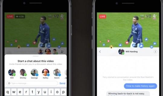 Facebook, nuovi strumenti interattivi per i Live
