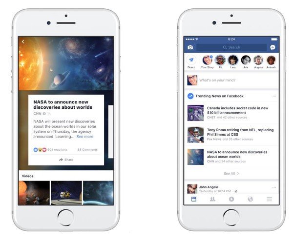 Facebook, arrivano le chat private nei Live