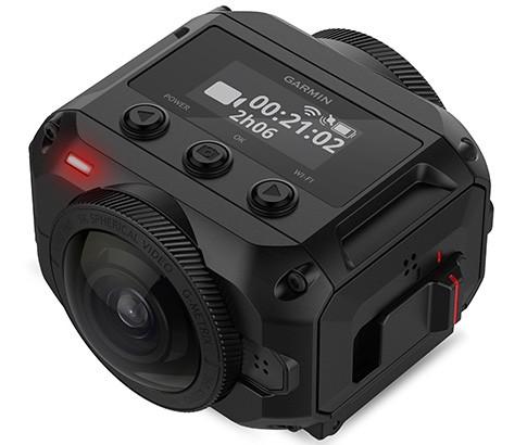 La action camera Garmin VIRB 360 per le riprese dedicate alla realtà virtuale