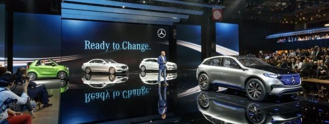 Mercedes, in sviluppo una berlina elettrica