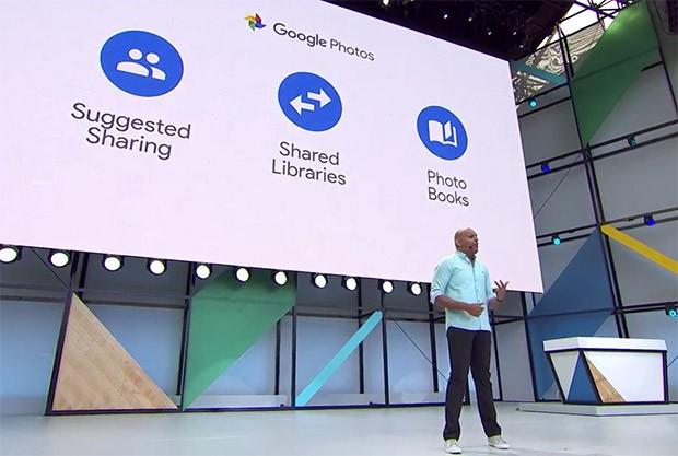 Le novità di Google Foto annunciate all'I/O 2017