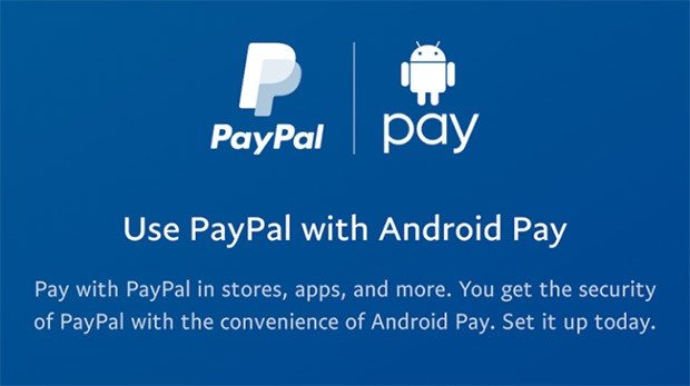 L'integrazione tra PayPal e Android Pay