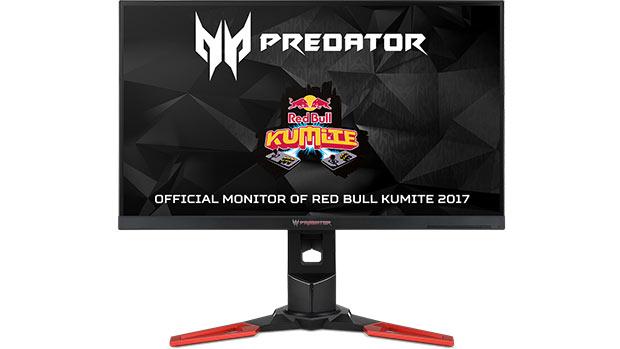 Acer Predator XB271HK è il monitor ufficiale dell'evento Red Bull Kumite 2017