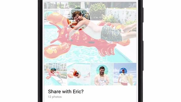 La nuova funzionalità Suggested Sharing di Google Foto individua chi è immotalato nelle immagini e suggerisce di condividere con lui lo scatto