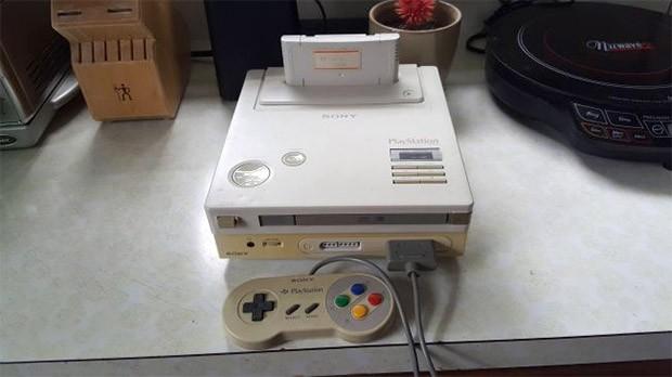 Il prototipo della console Nintendo PlayStation