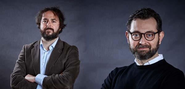 Da sinistra: Lorenzo Fabbri, Content Design del Team per la Trasformazione Digitale; Matteo de Santi, Prodotto e User Experience e User Interface (UX / UI). Sono loro ad aver lavorato alla piattaforma Designers Italia.