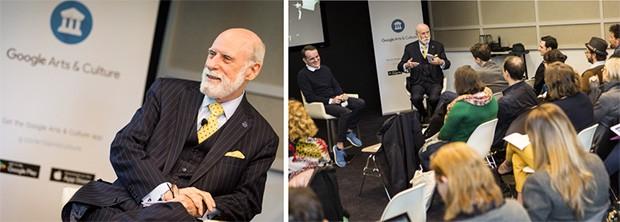 Vint Cerf, uno dei padri di Internet, è Chief Evangelist di Google dal 2005