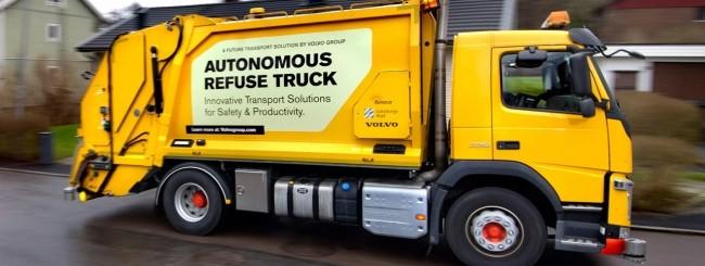 Volvo Autonomouse Refuse Truck